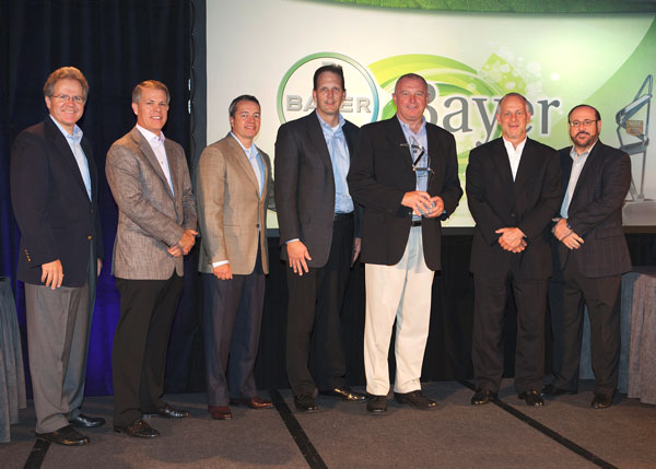 Representing Bayer Corporation are Andy Nestler, Vice President of US Sales, and Jack O'Malley, Rite Aid Team Leader