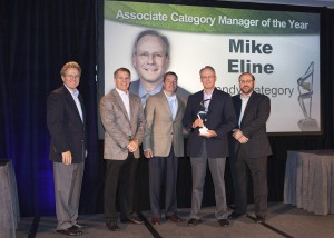 Mike Eline, second from right, has been named Rite Aid's Associate Category